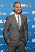 Shia LaBeouf attends a photocall for 'Man Down' at TIFF Bell Lightbox during the 2015 Toronto International Film Festival on September 15 2015 in...