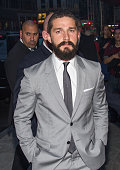Shia LaBeouf attends the 'Fury' New York Premiere at DGA Theater on October 14 2014 in New York City