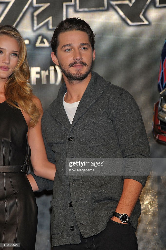 Shia LaBeouf attends the 'Transformers: Dark of the Moon' press conference at the St. Regis Hotel Osaka on July 16, 2011 in Osaka, Japan. The film will open on July 29 in Japan.