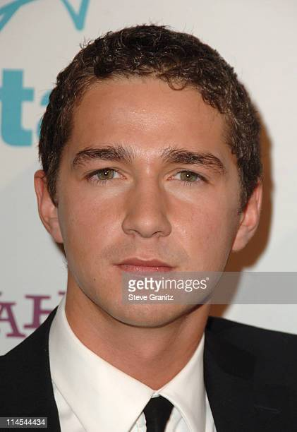 Shia LaBeouf during Hollywood Film Festival 10th Annual Hollywood Awards Arrivals at The Beverly Hilton Hotel in Beverly Hills California United...