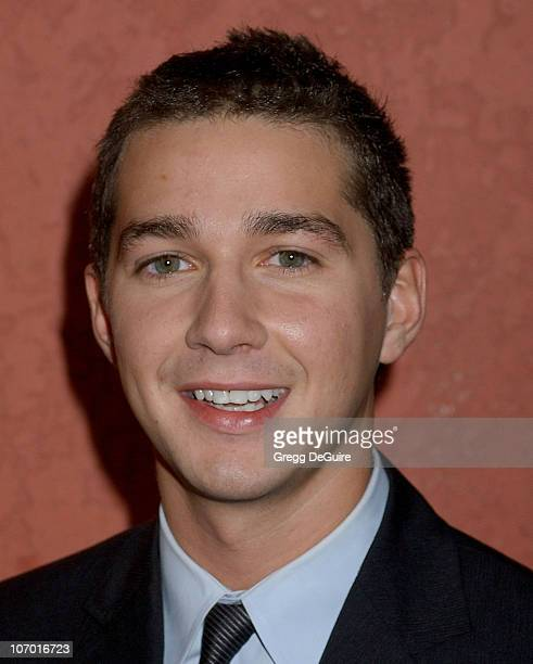 Shia LaBeouf during Hollywood Life's Breakthrough of the Year Awards Arrivals at Music Box at the Fonda in Hollywood California United States