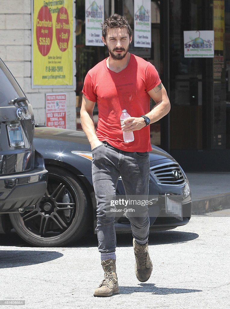 <a gi-track='captionPersonalityLinkClicked' href=/galleries/search?phrase=Shia+LaBeouf&family=editorial&specificpeople=233442 ng-click='$event.stopPropagation()'>Shia LaBeouf</a> is seen in Los Angeles on July 02, 2014 in Los Angeles, California.