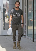 Shia Labeouf is seen on April 02 2015 in Los Angeles California