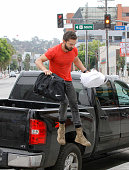 Shia LaBeouf is seen on August 19 2014 in Los Angeles California