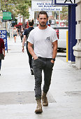 Shia LaBeouf is seen on July 19 2014 in Los Angeles California
