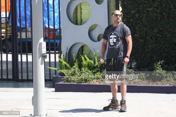 Shia LaBeouf is seen on June 05 2013 in Los Angeles Ca