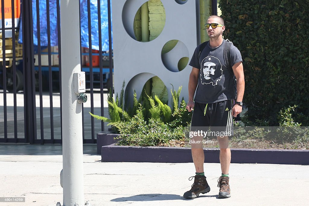 Shia LaBeouf is seen on June 05, 2013 in Los Angeles, Ca.