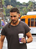 Shia LaBeouf is seen on March 02 2015 in Los Angeles California