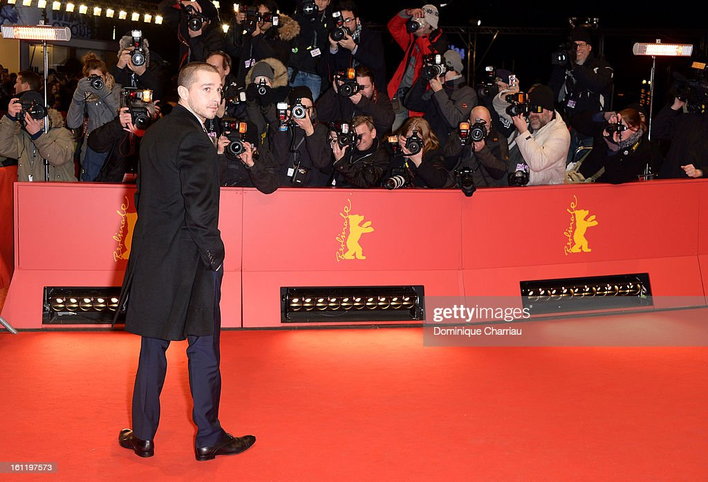 Shia LeBeouf attends 'The Necessary Death of Charlie Countryman' Premiere during the 63rd Berlinale International Film Festival at the Berlinale...