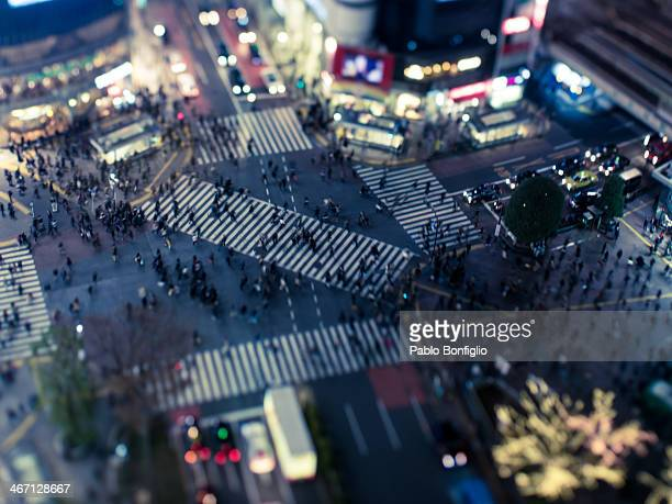 Shibuya Crossing from above