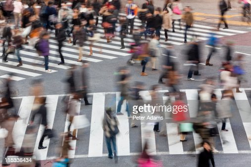 Shibuya crossing, Shibuya,Tokyo, Japan