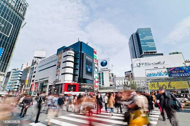 Shibuya is famous for its scramble crossing it is located in front of the Shibuya Station Hachiko exit Shibuya Station and surroundings will be...