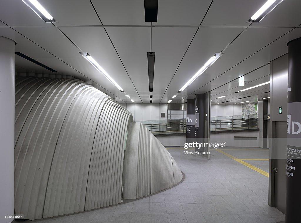 Shibuya StationTokyo Tokyo Prefecture Japan Architect Tadao Ando Shibuya Subway StationEntrance Pod