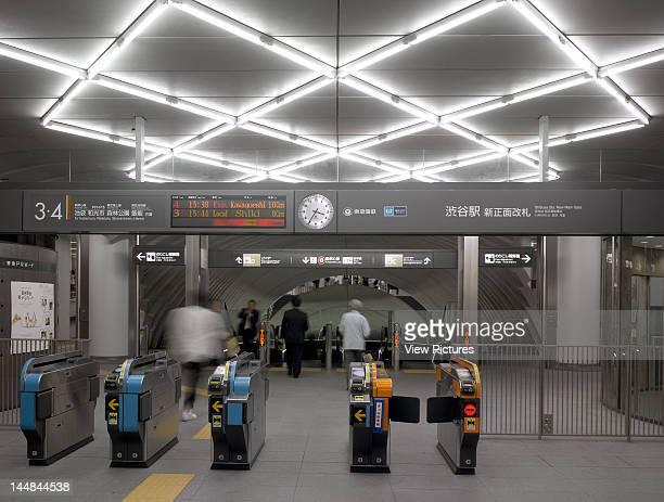 Shibuya StationTokyo Tokyo Prefecture Japan Architect Tadao Ando Shibuya Subway StationEntrance Turnstile
