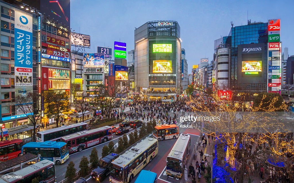 東京、渋谷 : ストックフォト