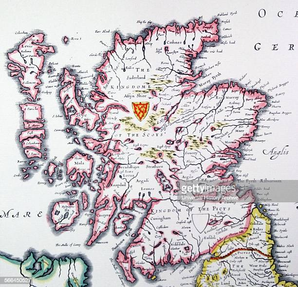 Shield of Scotland from the Heptarchy a collective name applied to the AngloSaxon kingdoms of south east and central England during late antiquity...