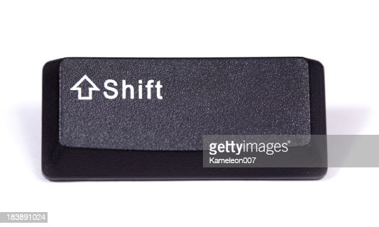 how to turn off shift keys