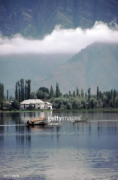 Shikaras on Dal Lake, Kashmir