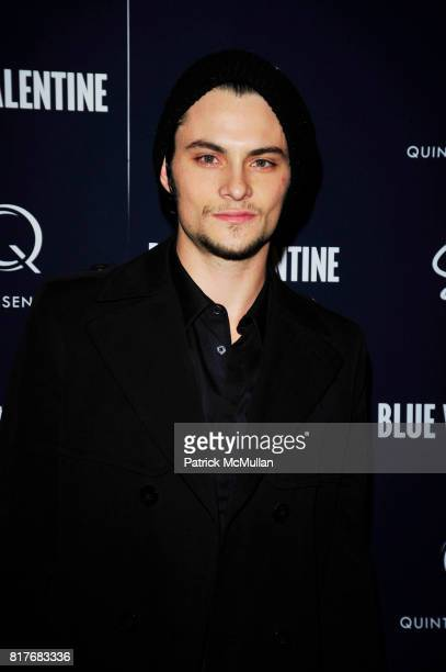 Shiloh Fernandez attends 'BLUE VALENTINE' Hosted by QUINTESSENTIALLY at MoMA and Boom Boom Room at Standard Hotel NYC on December 7 2010 in New York...