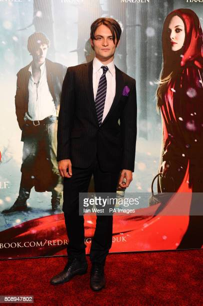 Shiloh Fernandez attends the screening of Red Riding Hood at the Empire Cinema in London