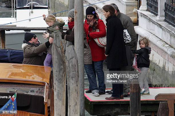 Shiloh JoliePitt is seen on March 7 2010 in Venice Italy