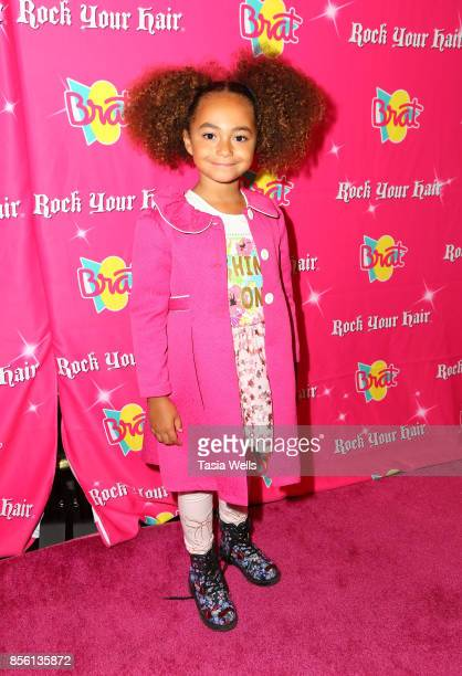 Shiloh Philips at Rock Your Hair Presents Rock Back to School Concert Party on September 30 2017 in Los Angeles California