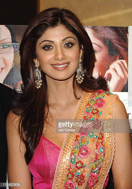 Shilpa Shetty during 'Life In AMetro' London Premiere Inside Arrivals at Empire Leicester Square in London Great Britain