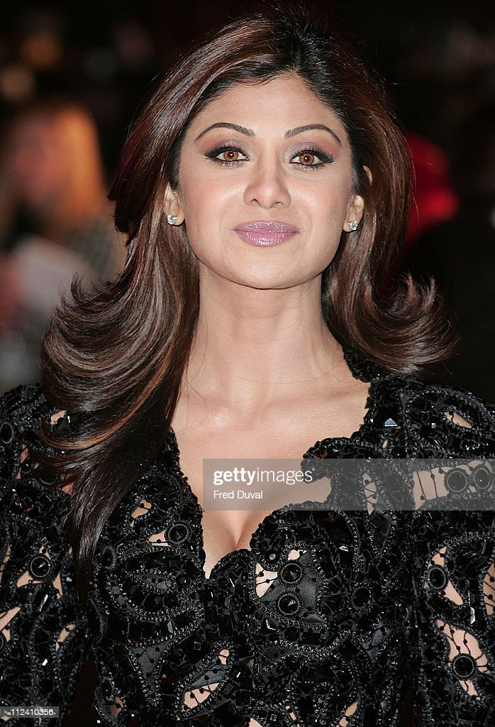 Shilpa Shetty during 'Music and Lyrics' London Premiere at Odeon Leicester Square WC2 in London Great Britain