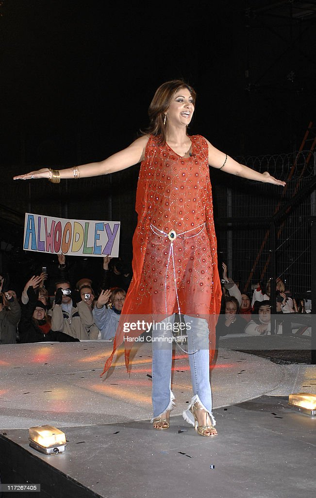 Shilpa Shetty winner during Celebrity Big Brother 2007 Final Eviction at Elstree Studios in London Great Britain