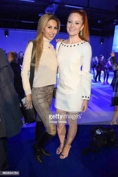 Shima Lehmann and Barbara Meier during the Holiday on Ice Season Opening 2017/18 at Volksbank Arena on October 12 2017 in Hamburg Germany
