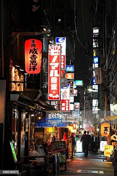 Shimbashi nightlife