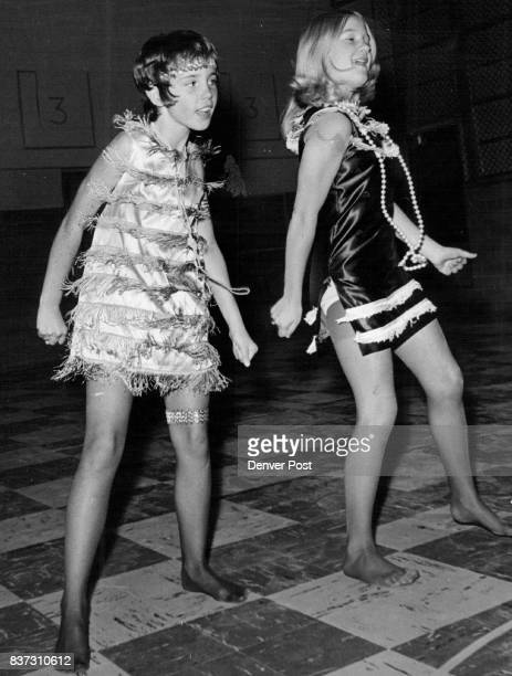 NOV 13 1974 'Shimmy Sisters' to Entertain at School Brenda Moberly left and Traci Fields will be among entertainers at Secrest Elementary's 20th...