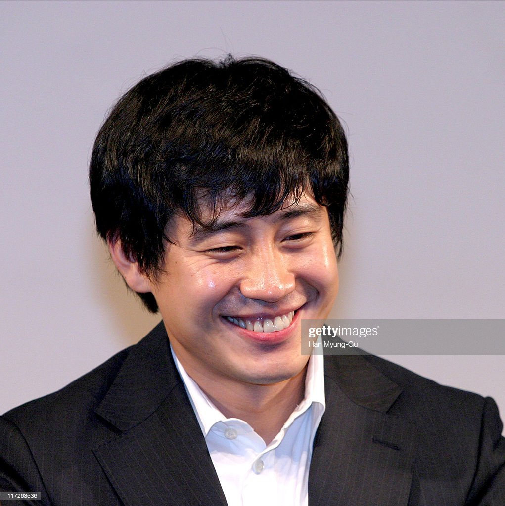 Shin HaGyun during My Brother Seoul Press Conference at Shilla Hotel in Seoul City Seoul South Korea