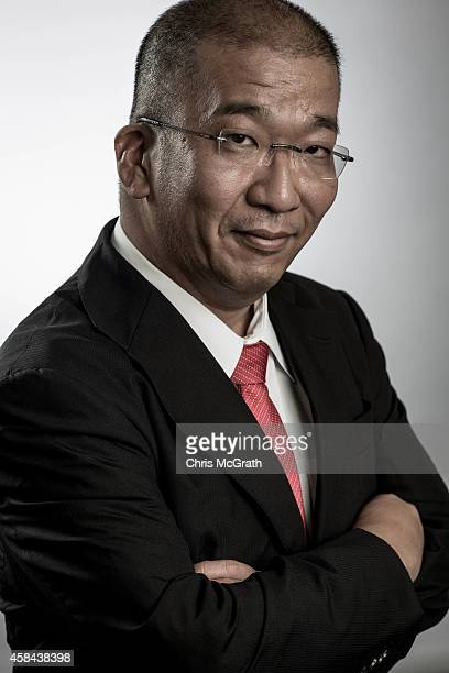 Shin Miyakawa network evangelist of NTT Communications poses for photographs at NTT Communications headquarters on September 24 2014 in Tokyo Japa