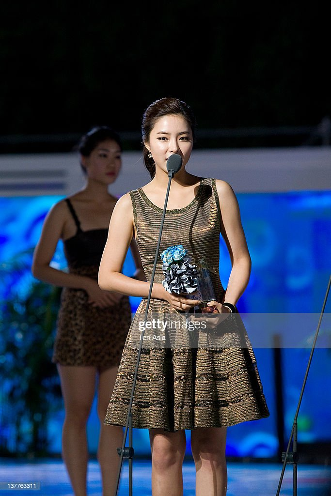 Shin Se-Gyeong speaks during the 2010 Mnet 20's Choice at Sheraton Grande Walkerhill Hotel on August 26, 2010 in Seoul, South Korea.