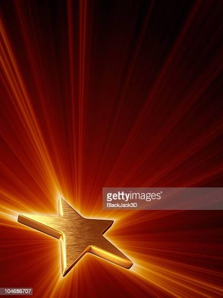 Shine de Gold Star (Vertical