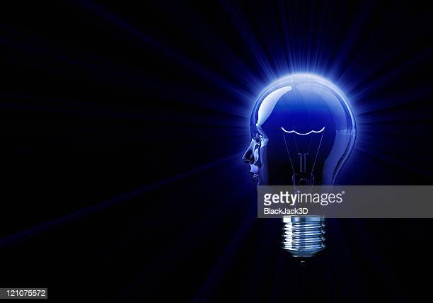 Shine of Light Bulb Head