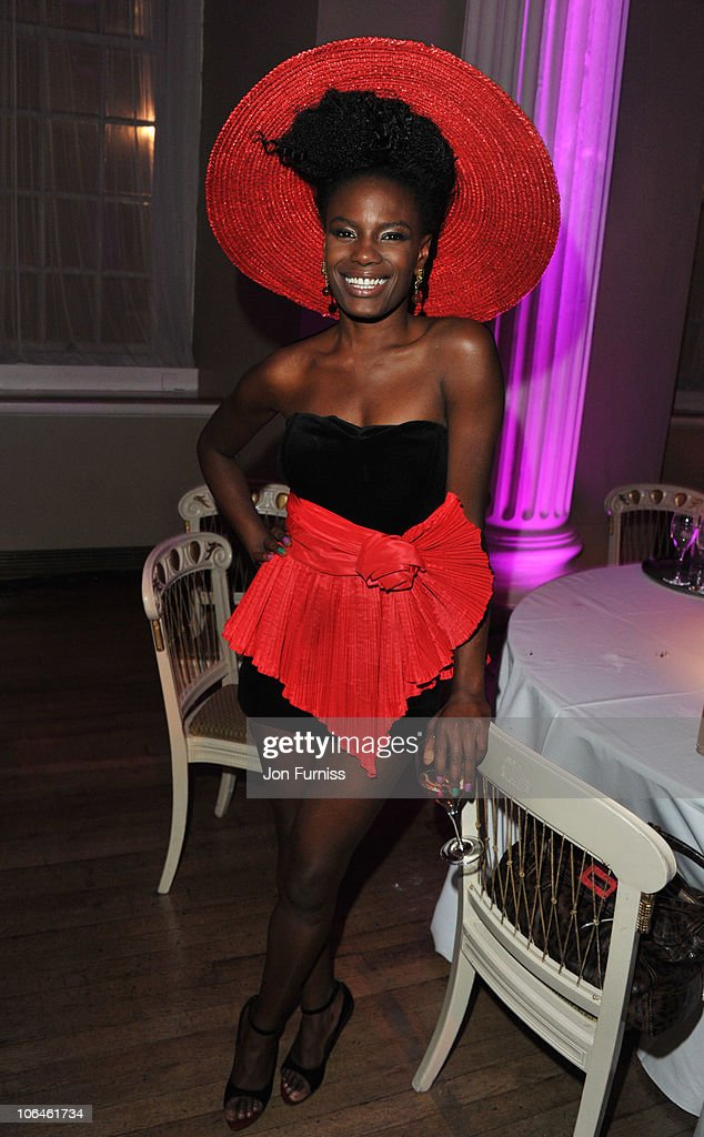 Shingai Shoniwa attends Cosmopolitan's Ultimate Women Of The Year at Banqueting House on November 2, 2010 in London, England.