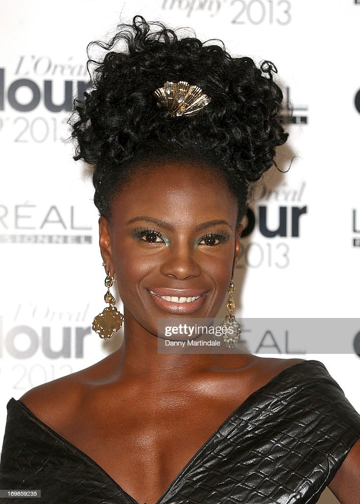 <a gi-track='captionPersonalityLinkClicked' href=/galleries/search?phrase=Shingai+Shoniwa&family=editorial&specificpeople=4266140 ng-click='$event.stopPropagation()'>Shingai Shoniwa</a> attends the L'Oreal Colour Trophy Awards 2013 at Grosvenor House, on June 3, 2013 in London, England.