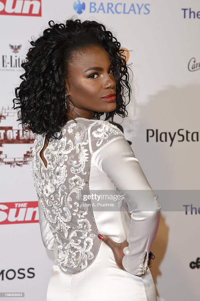 Shingai Shoniwa attends the Spirit of London Awards at the O2 Arena on December 10, 2012 in London, England.