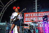 GBR: International Busking Day With KT Tunstall - Photocall