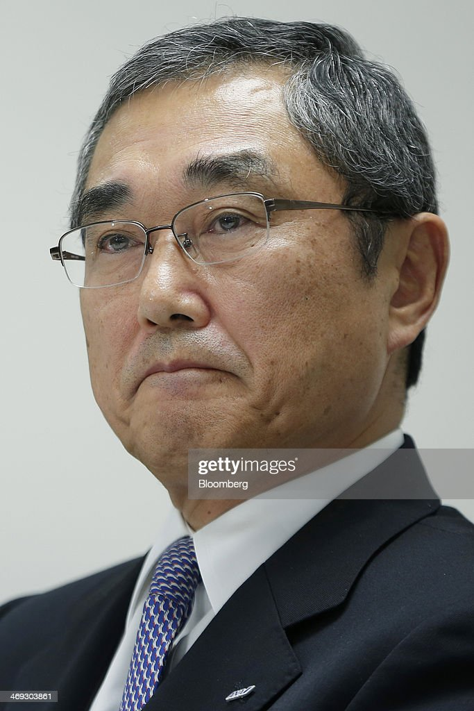 <a gi-track='captionPersonalityLinkClicked' href=/galleries/search?phrase=Shinichiro+Ito&family=editorial&specificpeople=5666038 ng-click='$event.stopPropagation()'>Shinichiro Ito</a>, president and chief executive officer of ANA Holdings Inc., attends a news conference at the company's headquarters in Tokyo, Japan, on Friday, Feb. 14, 2014. The Tokyo-based company last week raised its net income prediction 16 percent to 148 billion yen in the year to March 31 and said that it was benefiting from the use of deferred tax assets. Photographer: Kiyoshi Ota/Bloomberg via Getty Images