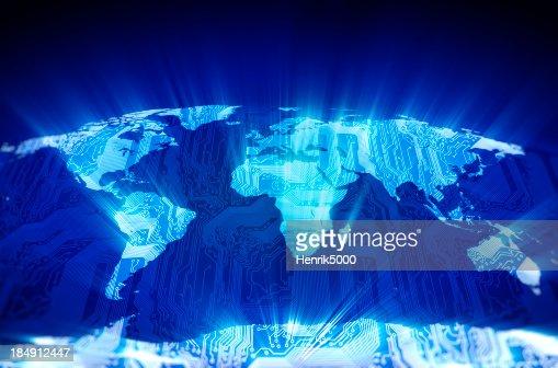 Shining Circuit World map