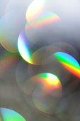 Shining of crystal glass