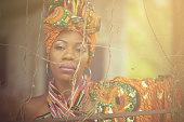 I shining. African American woman.