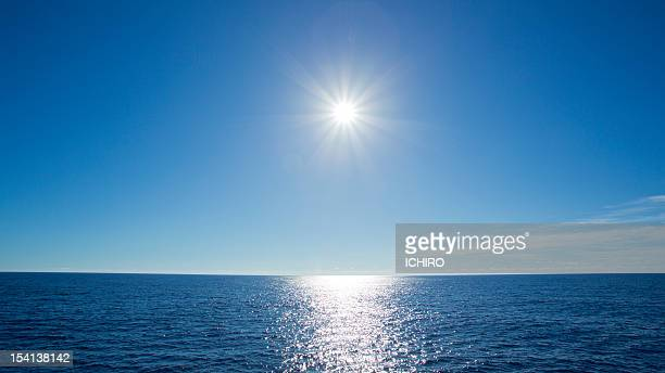 Shining sun and the Sea