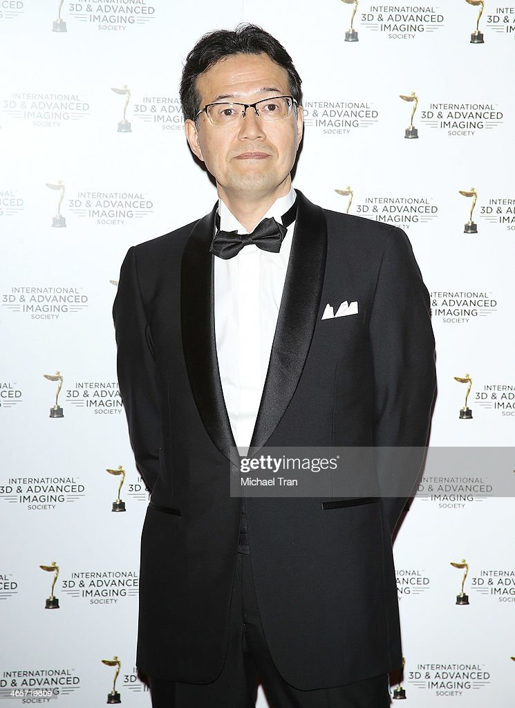 Shinji Aramaki arrives at the 2014 International 3D and Advanced Imaging Society's Creative Arts Awards held at Steven J. Ross Theatre on January 28, 2014 in Burbank, California.