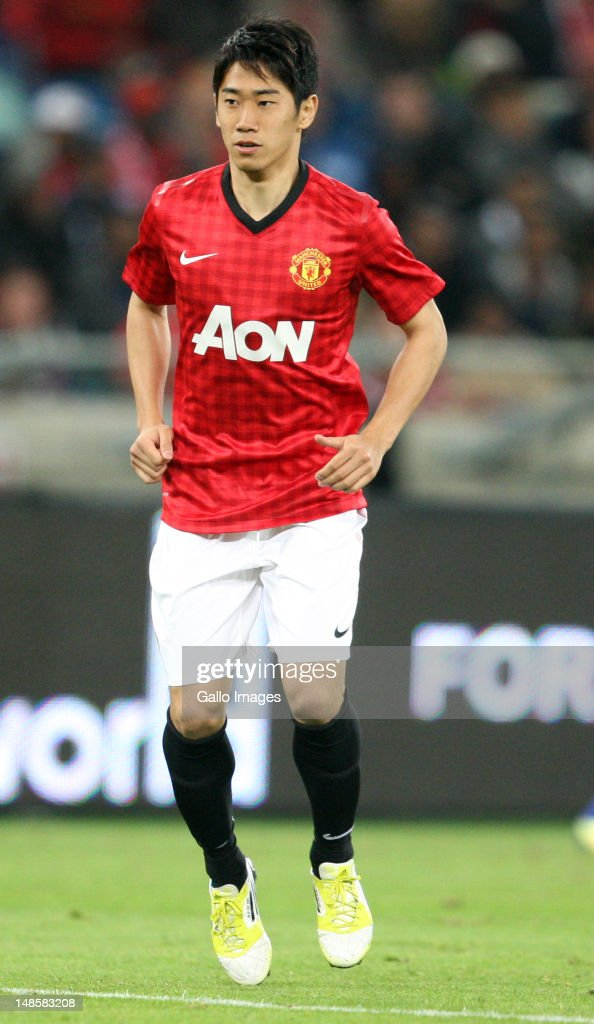 Shinji Kagawa during the MTN Football Invitational match between Amazulu and Manchester United from Moses Mabhida Stadium on July 18, 2012 in Durban, South Africa.
