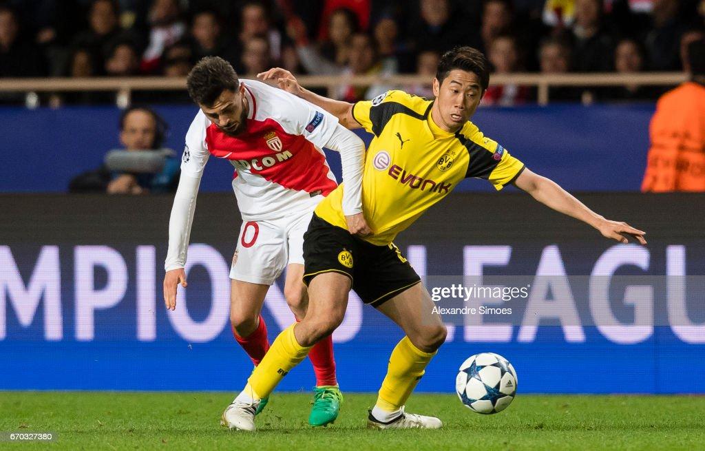 AS Monaco v Borussia Dortmund - UEFA Champions League Quarter Final: Second Leg : News Photo