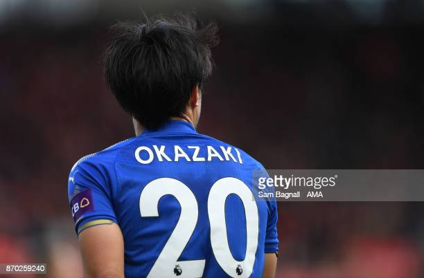 Shinji Okazaki of Leicester Cityduring the Premier League match between Stoke City and Leicester City at Bet365 Stadium on November 4 2017 in Stoke...